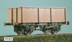 PC63 Parkside Dundas: BR IRON ORE TIPPLER WAGON 1/185